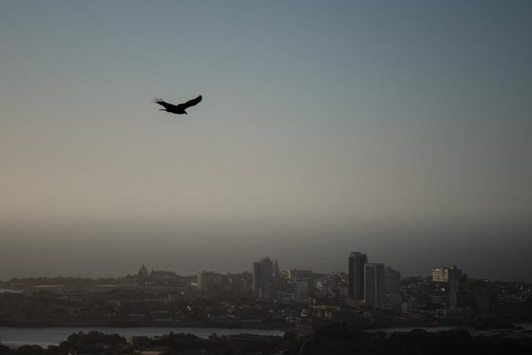 Flight over Cartagena