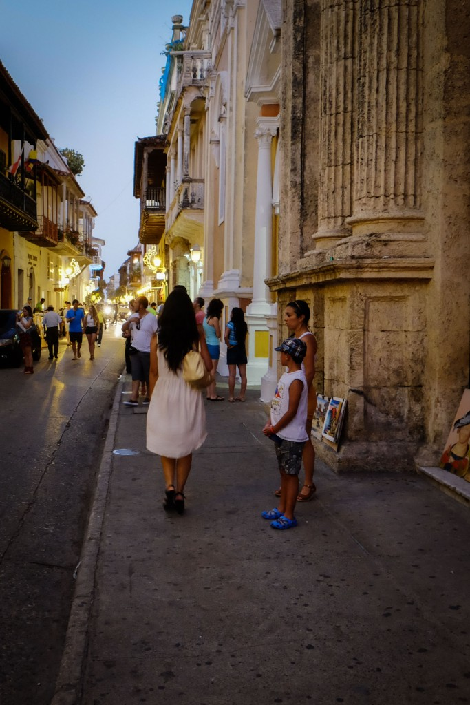 The girl of Cartagena