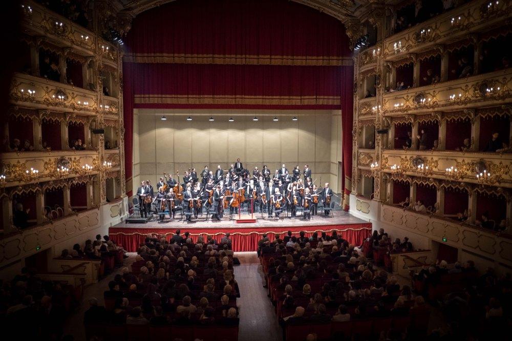 The final concert in Teatro Ponchielli, Cremona
