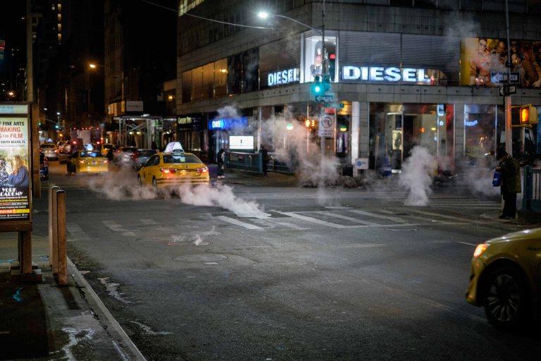 Diesel fumes New York