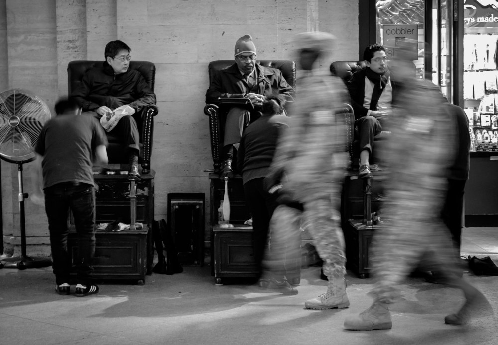 military presence in Grand central