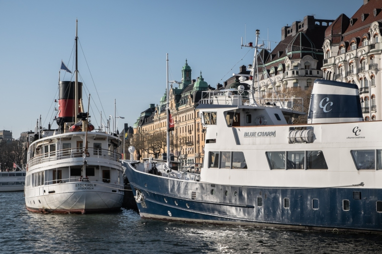MS Blue Charm Stockholm, and SS Stockholm 1931 dinner cruise