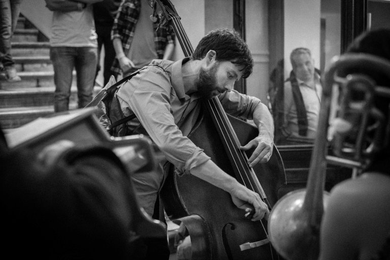 The Bassist, Torino Jazz Festival 2015 Egyptology Museum