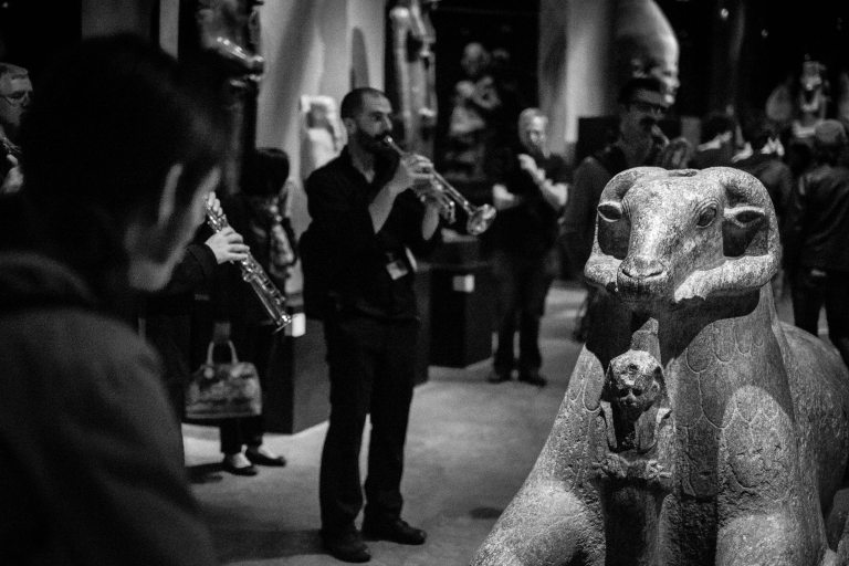 Kings Gallery ritual, Torino Jazz Festival 2015 Egyptology Museum