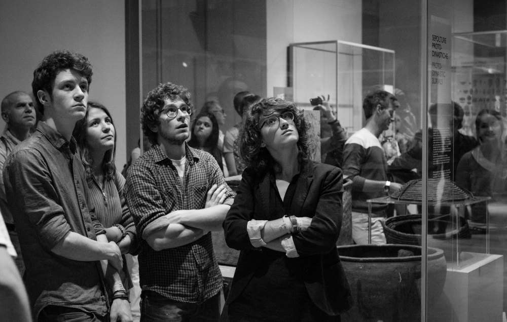 Audience warm up Torino Jazz Festival 2015 Egyptology Museum