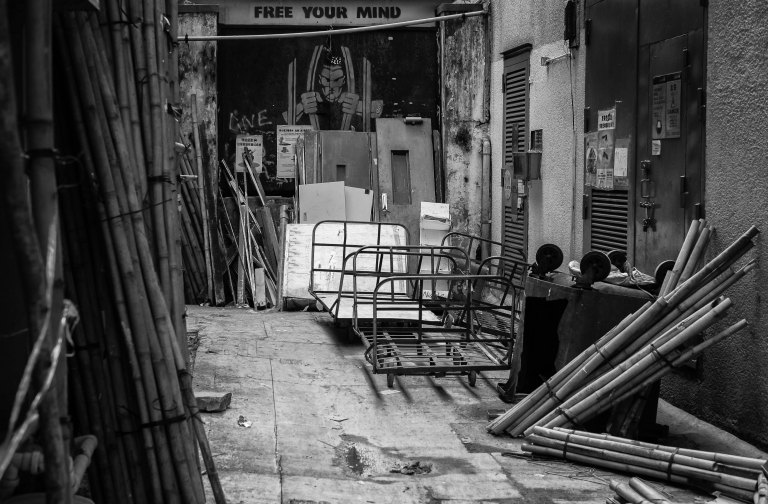 Hong Kong back street