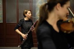 29' Chiarra Santi backstage Palau de la Musica Barcelona