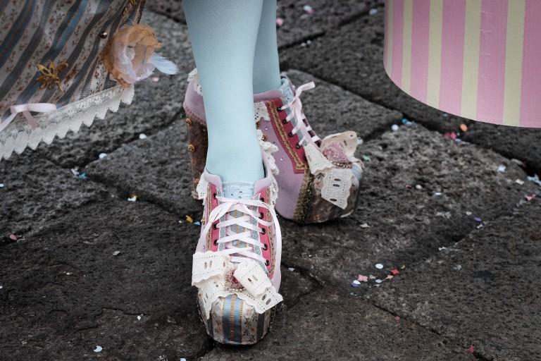 Josepha's shoes, Venezia Carnival