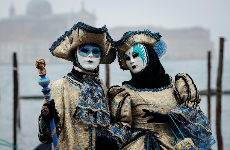 Gold and Blue, Venezia Carnival
