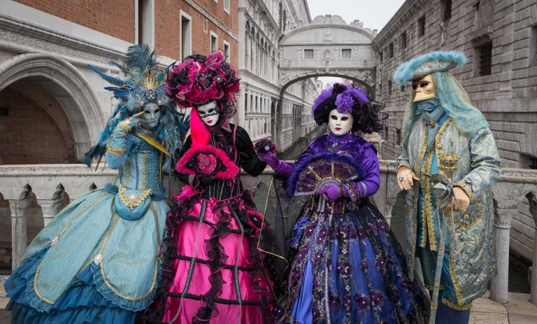 The 4 graces, Venezia Carnival