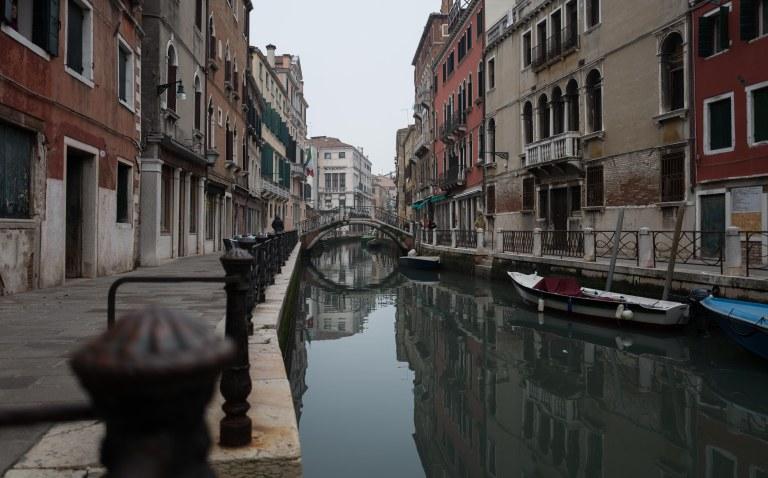 No ripples, Venezia