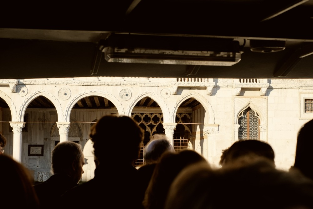 On the Vaporetto, Venezia
