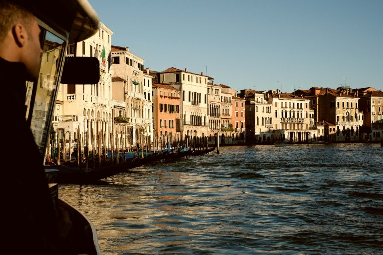 rush hour on Canal Grande Venezia