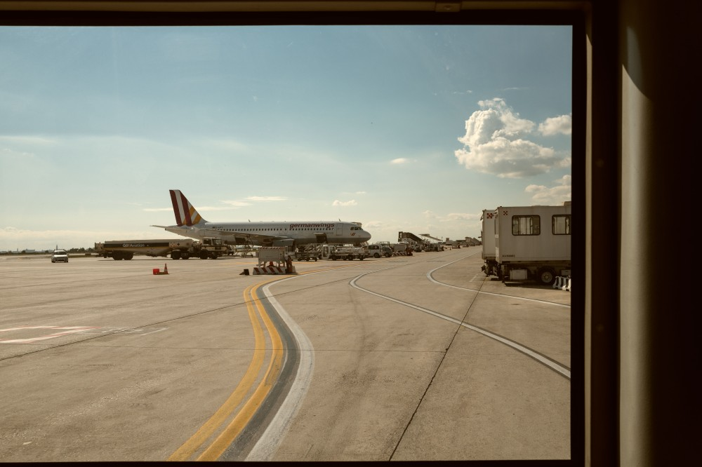 Venezia airport tarmac, Germanwings