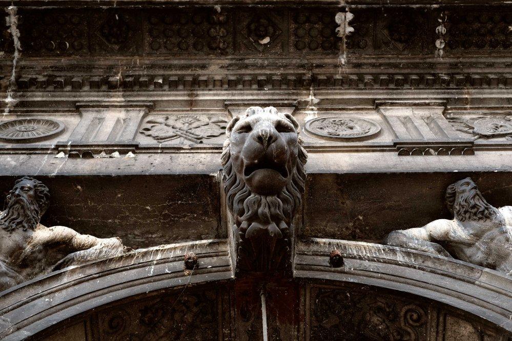 Leone, piazza San Marco, Venezia