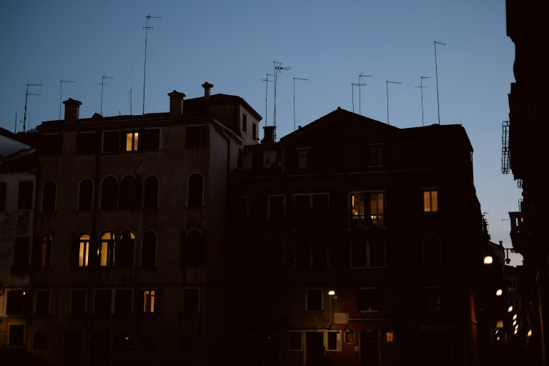 Blue hour II, Venezia
