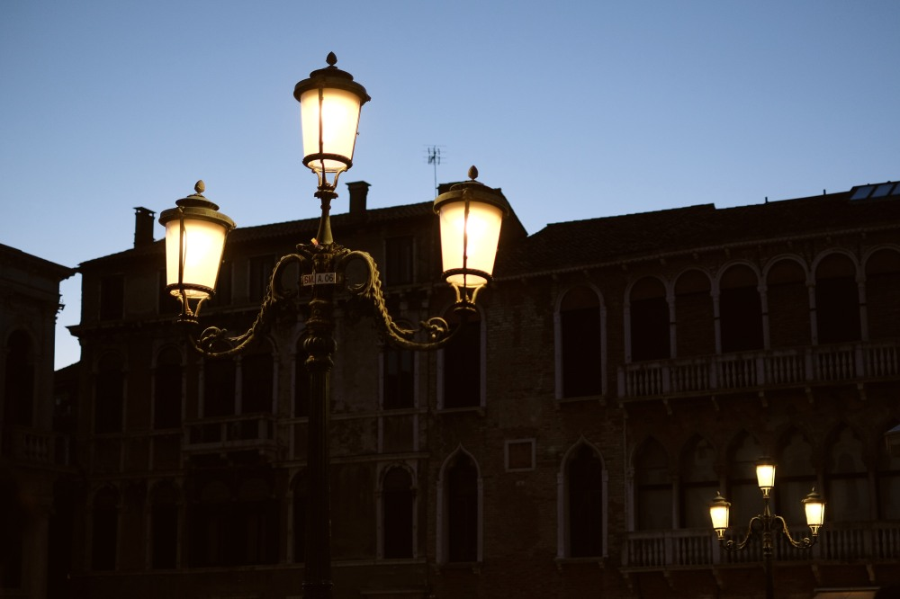 Blue hour in Venezia