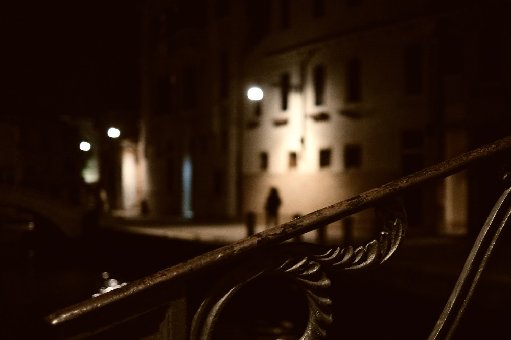 Night scene in Venezia
