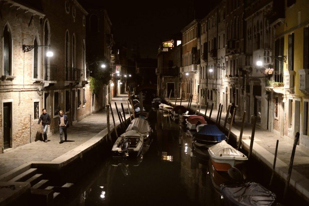 Night scene, Venezia