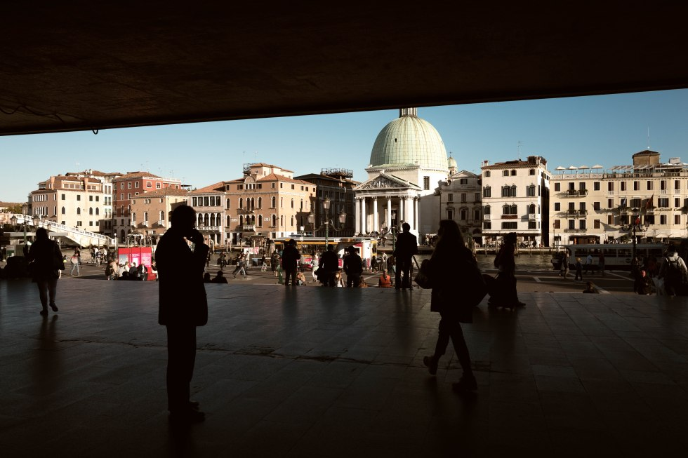 View from Santa Lucia station Venezia