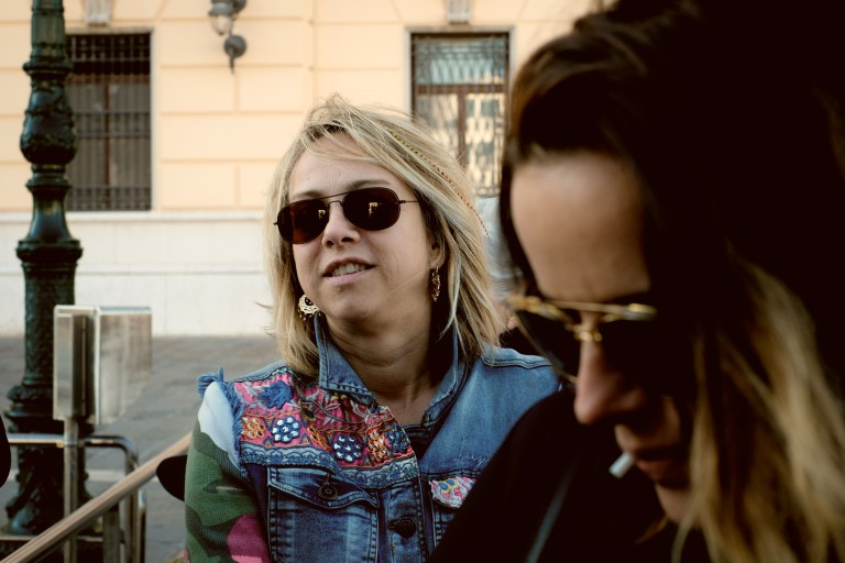 Tourist ladies in Venezia