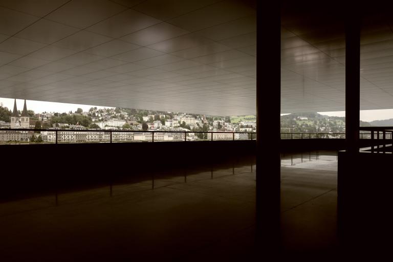 KKL Lucerne, Terrace