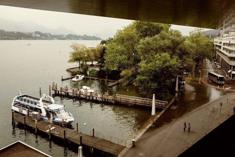 A rainy day, KKL Lucerne