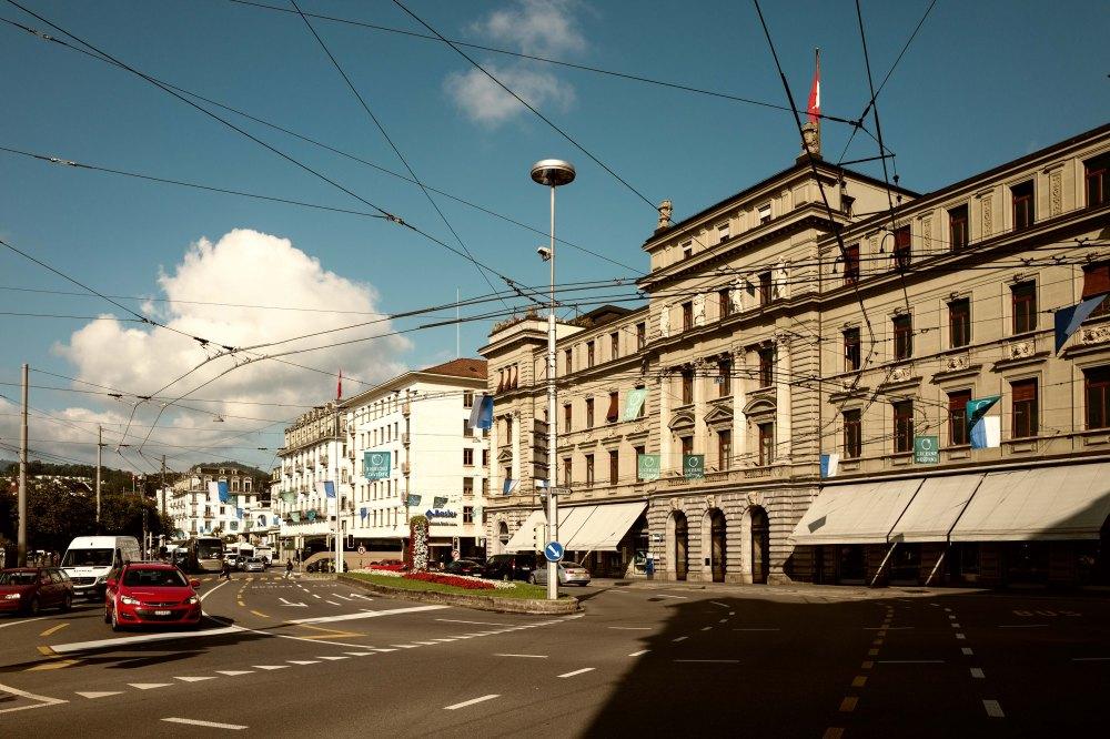 Spider web, Lucerne