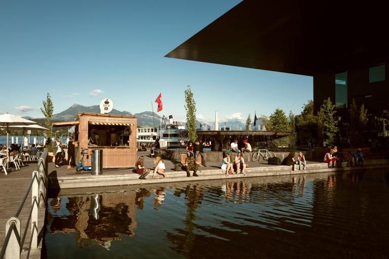 Lucerne Festival 2016, KKL, Dock 14