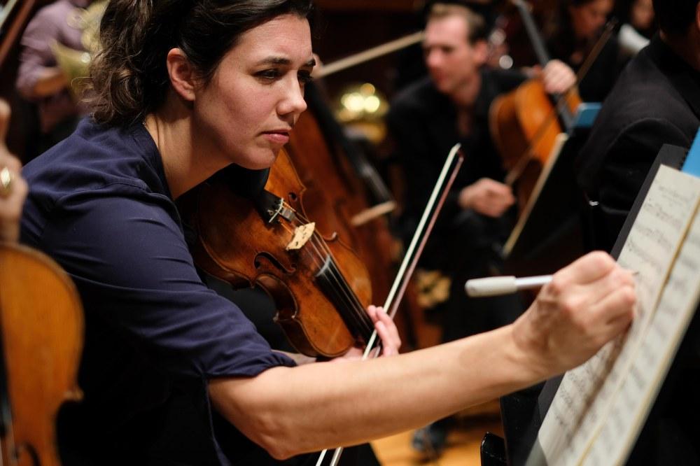 Mahler Chamber Orchestra rehearsal Osaka Symphony Hall