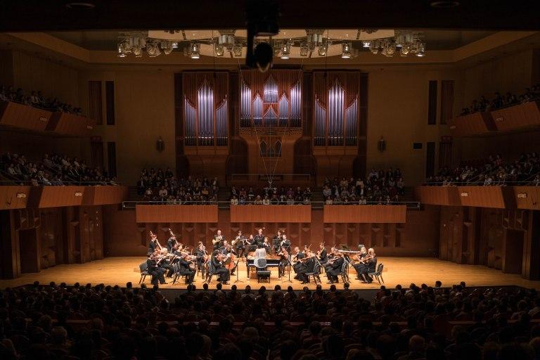 Mahler Chamber Orchestra-Uchida concert